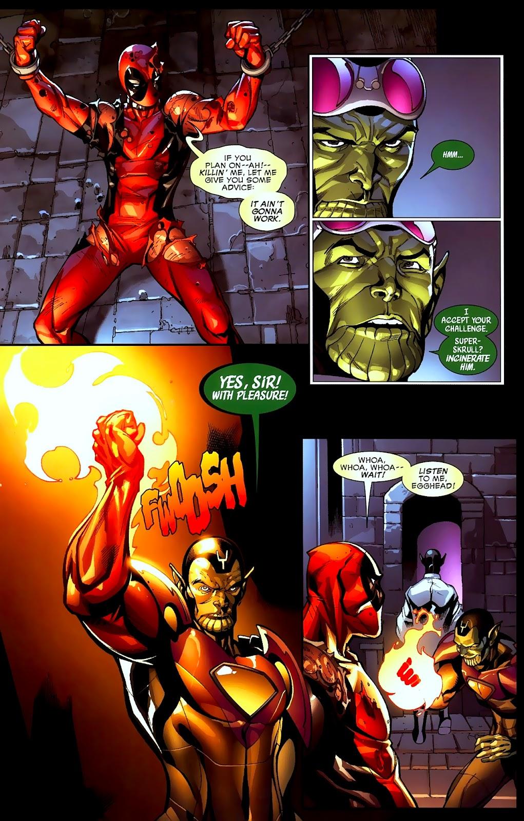 Read online Deadpool (2008) comic -  Issue #2 - 11