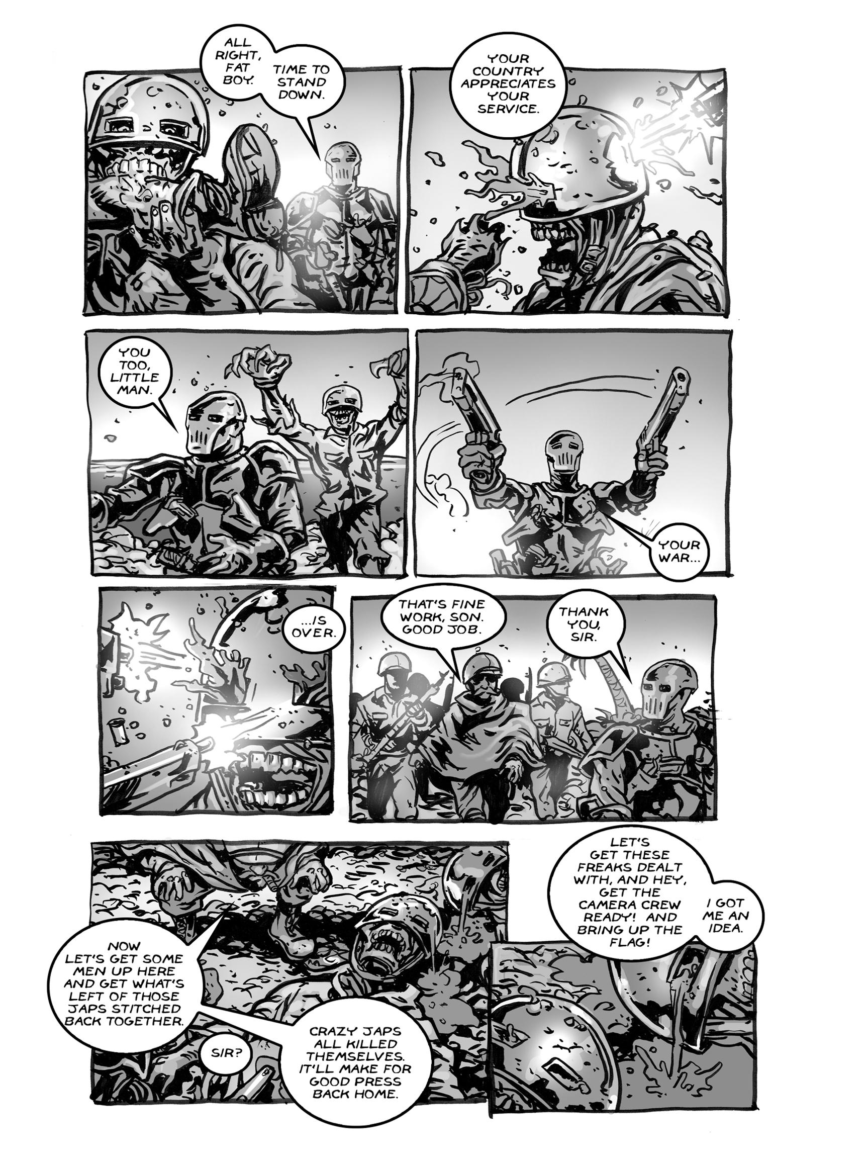 Read online FUBAR comic -  Issue #2 - 47