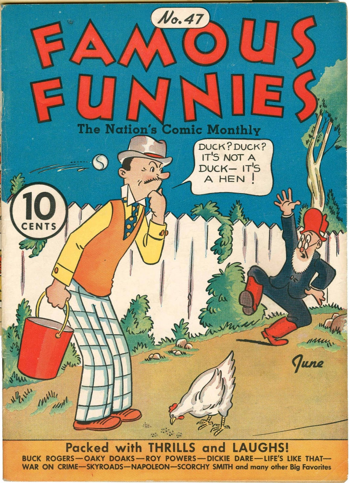 Read online Famous Funnies comic -  Issue #47 - 1
