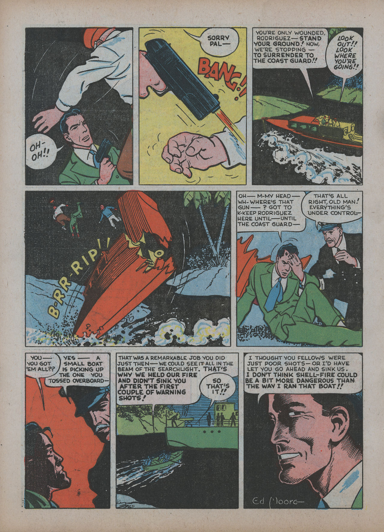 Read online Detective Comics (1937) comic -  Issue #48 - 22