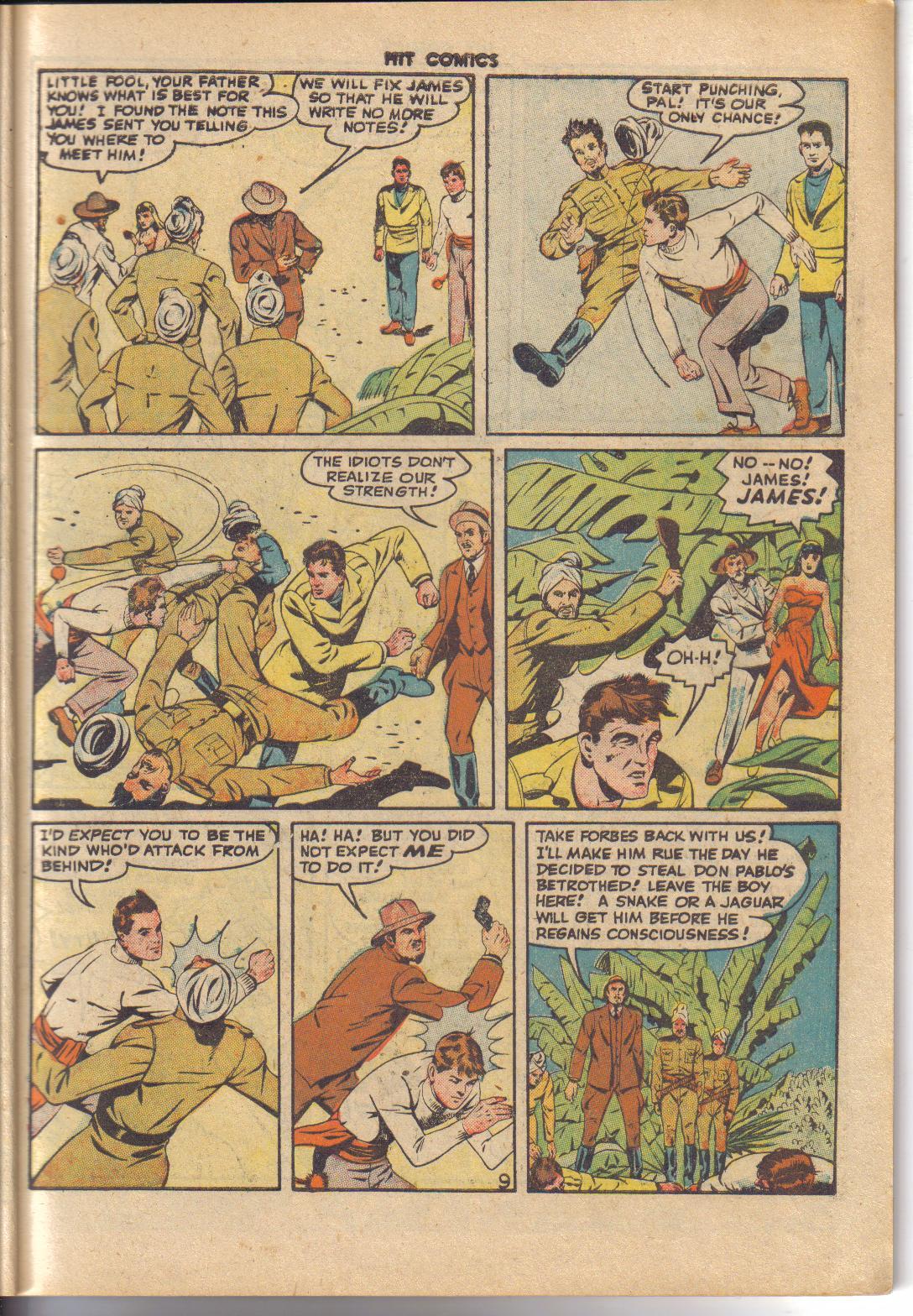 Read online Hit Comics comic -  Issue #45 - 11