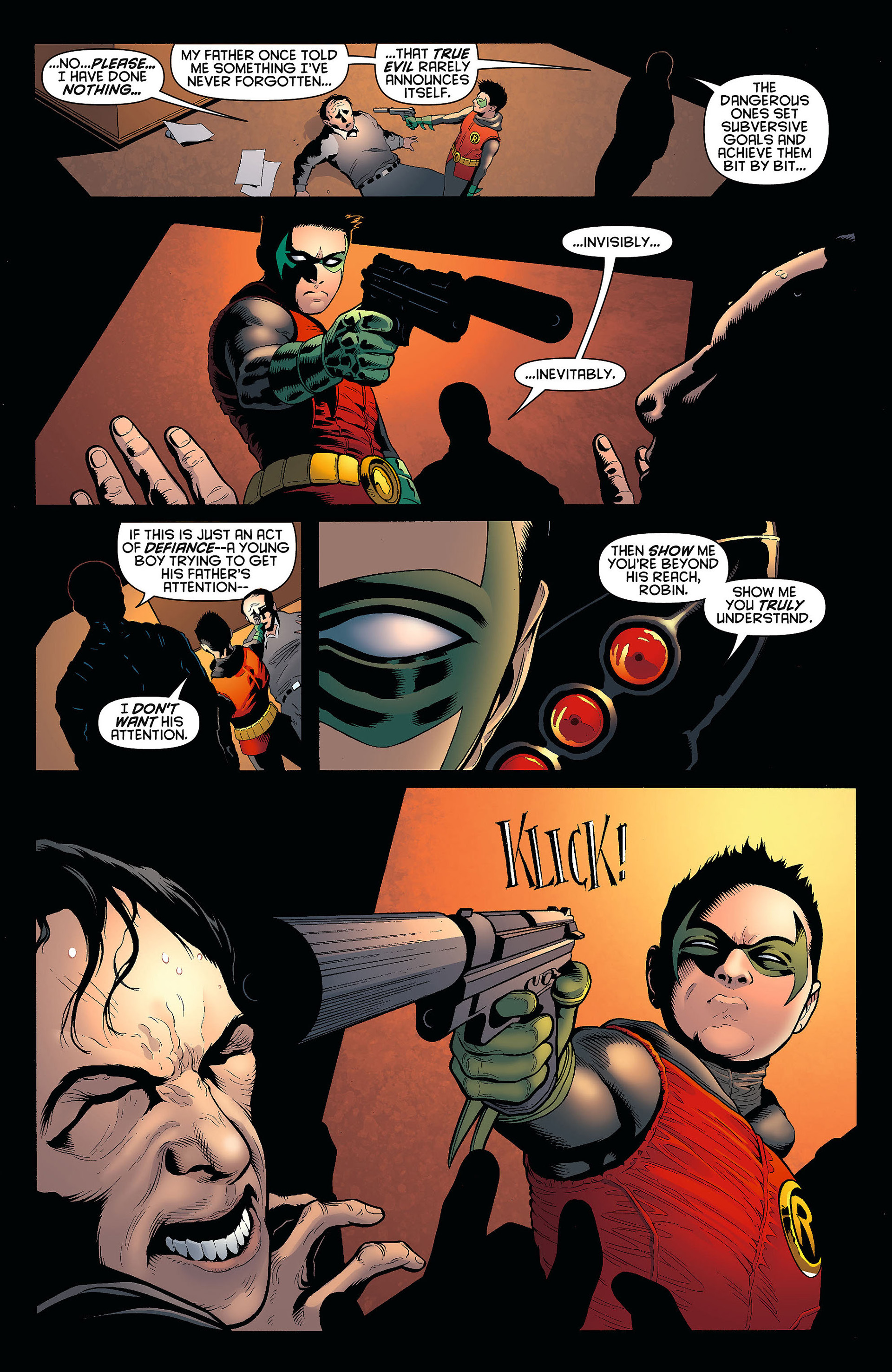 Read online Batman and Robin (2011) comic -  Issue #6 - 3