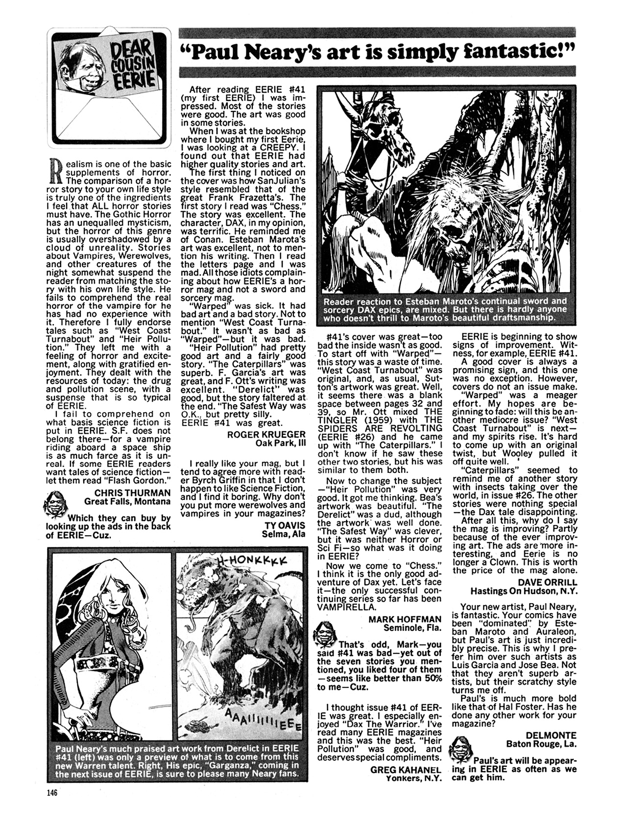 Read online Eerie Archives comic -  Issue # TPB 9 - 147