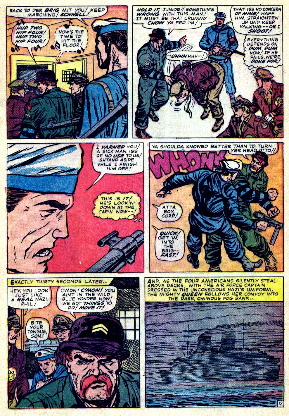 Read online Sgt. Fury comic -  Issue #26 - 17