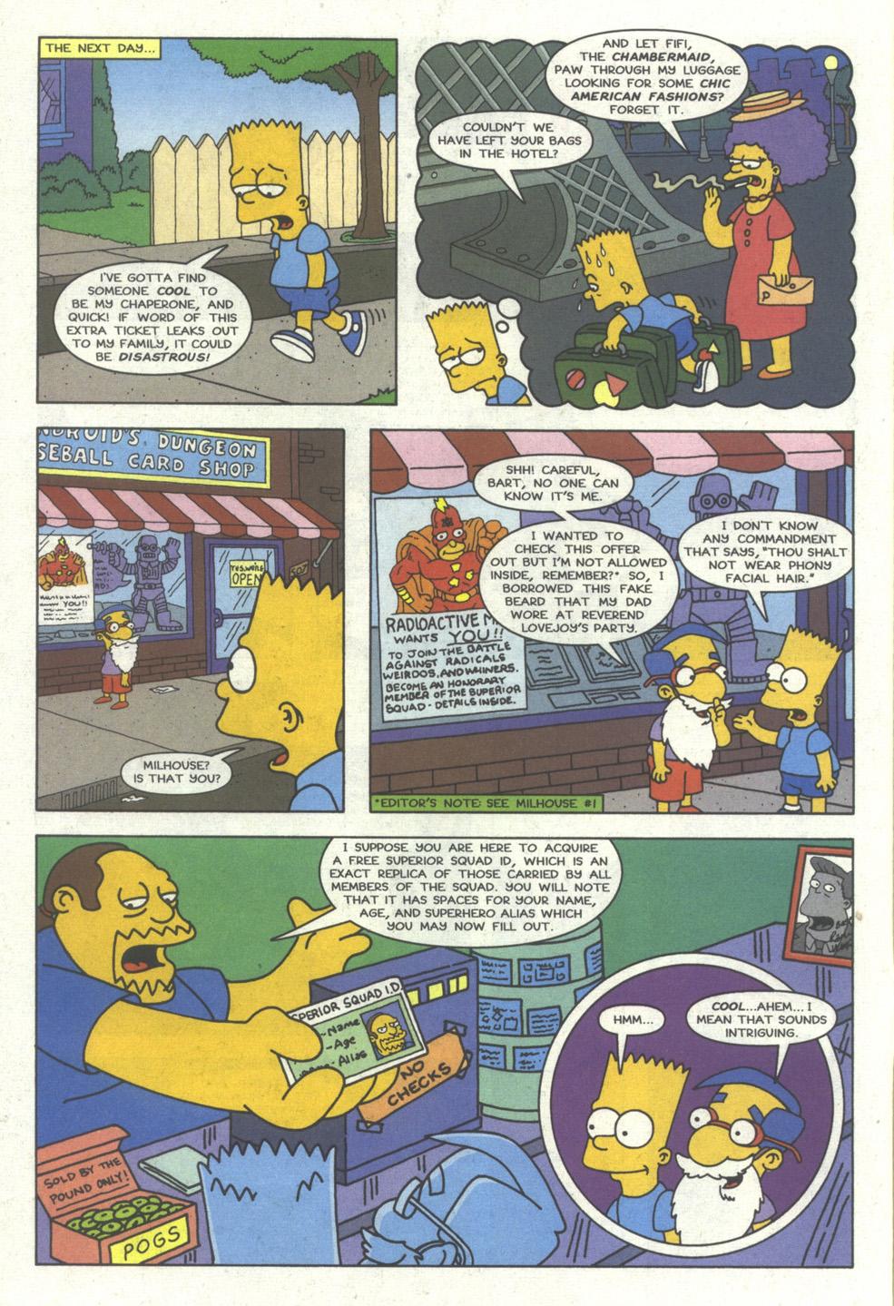 Read online Simpsons Comics comic -  Issue #23 - 5