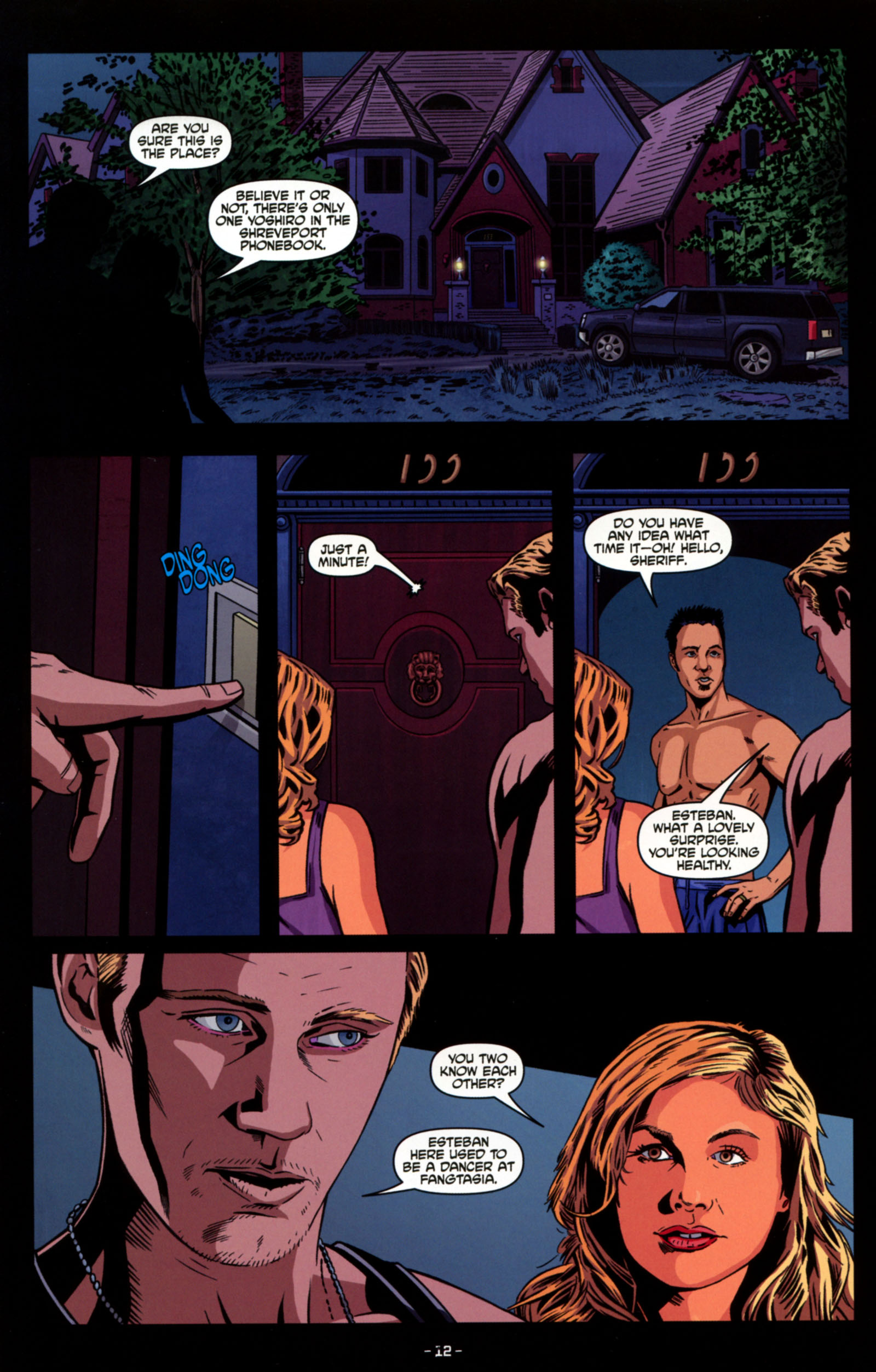Read online True Blood: Tainted Love comic -  Issue #4 - 14