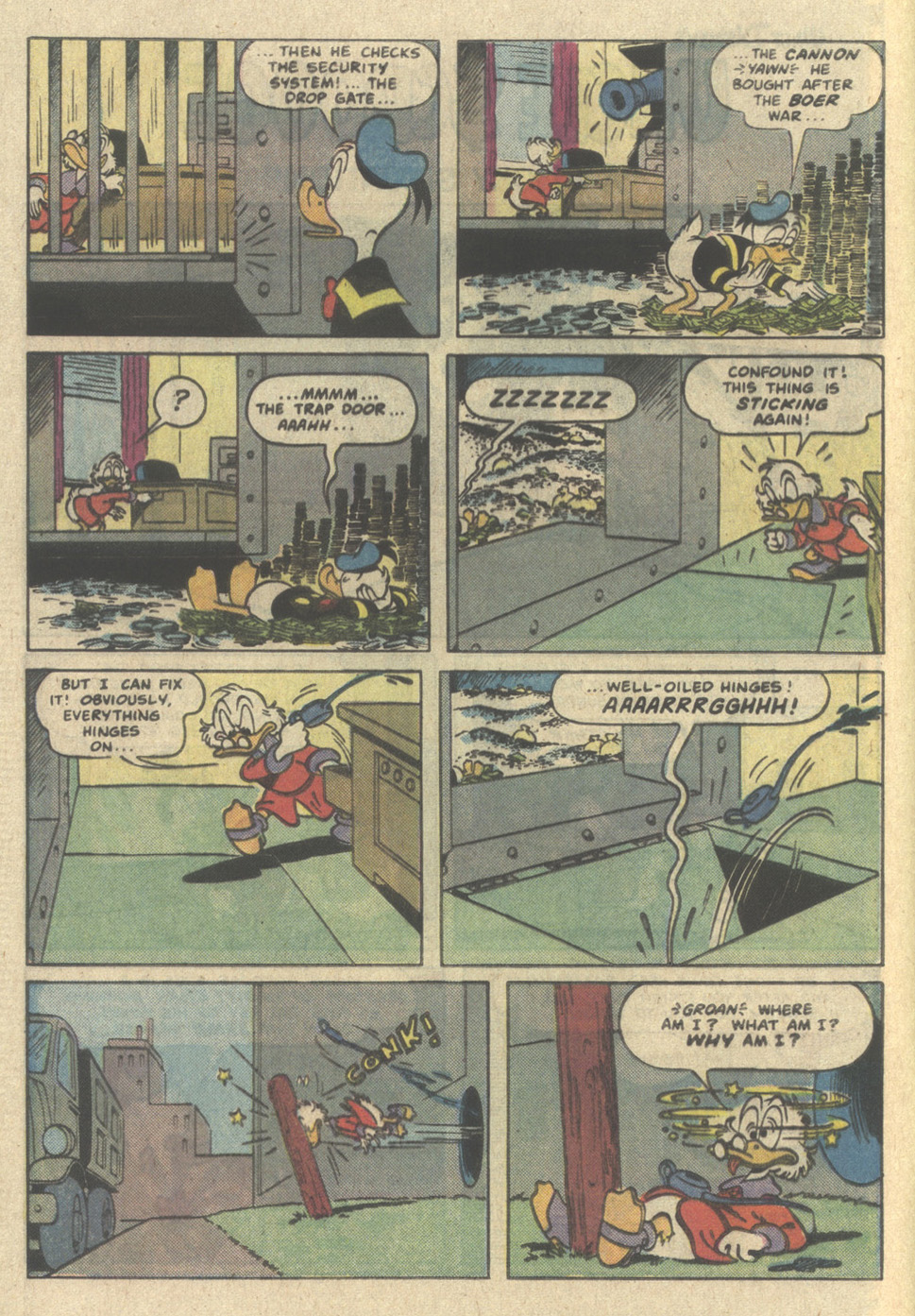 Read online Uncle Scrooge (1953) comic -  Issue #214 - 4