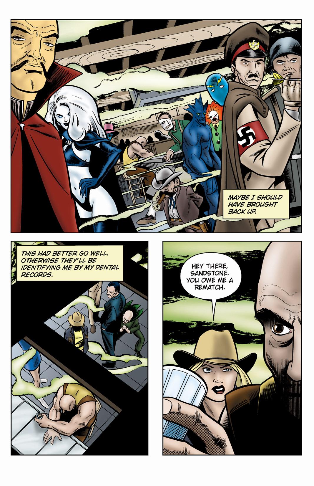 Read online SideChicks comic -  Issue #3 - 4