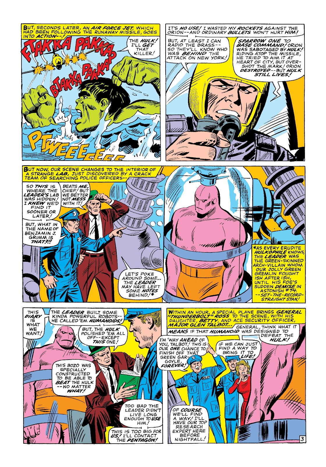 Read online Marvel Masterworks: The Incredible Hulk comic -  Issue # TPB 3 (Part 1) - 76