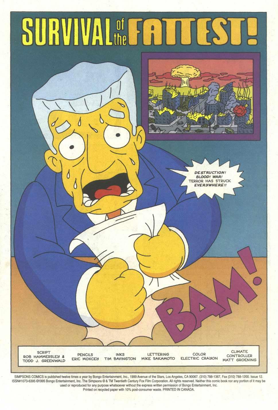 Read online Simpsons Comics comic -  Issue #12 - 2