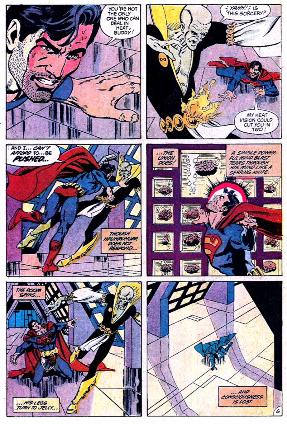 Read online Adventures of Superman (1987) comic -  Issue #452 - 7