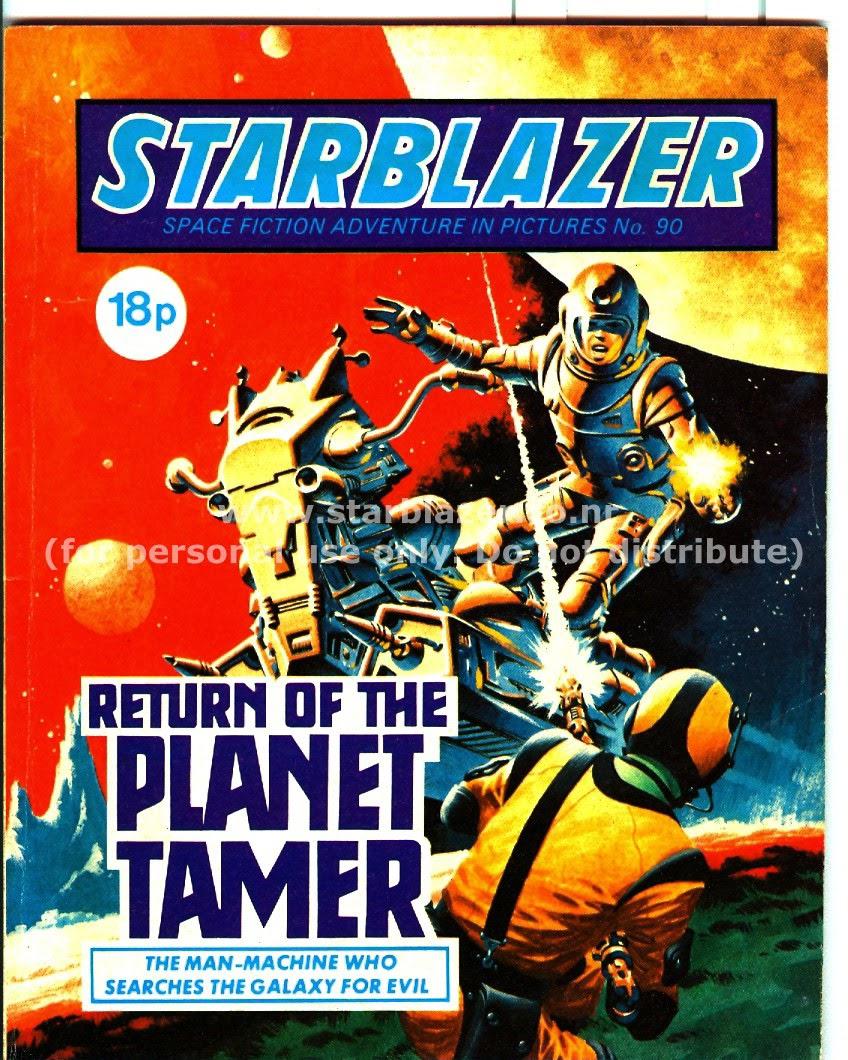 Starblazer issue 90 - Page 1