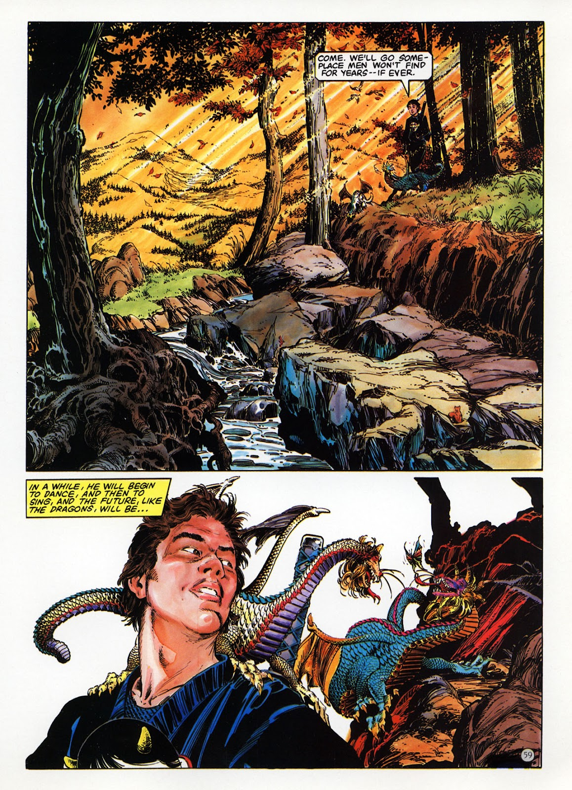 Read online Epic Graphic Novel: Last of the Dragons comic -  Issue # Full - 60