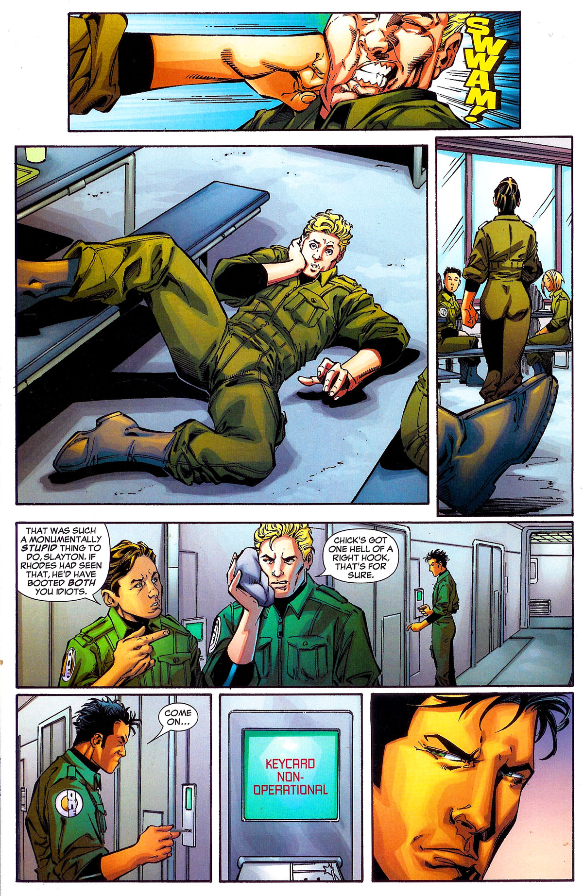 Read online Sentinel Squad O*N*E comic -  Issue #1 - 20