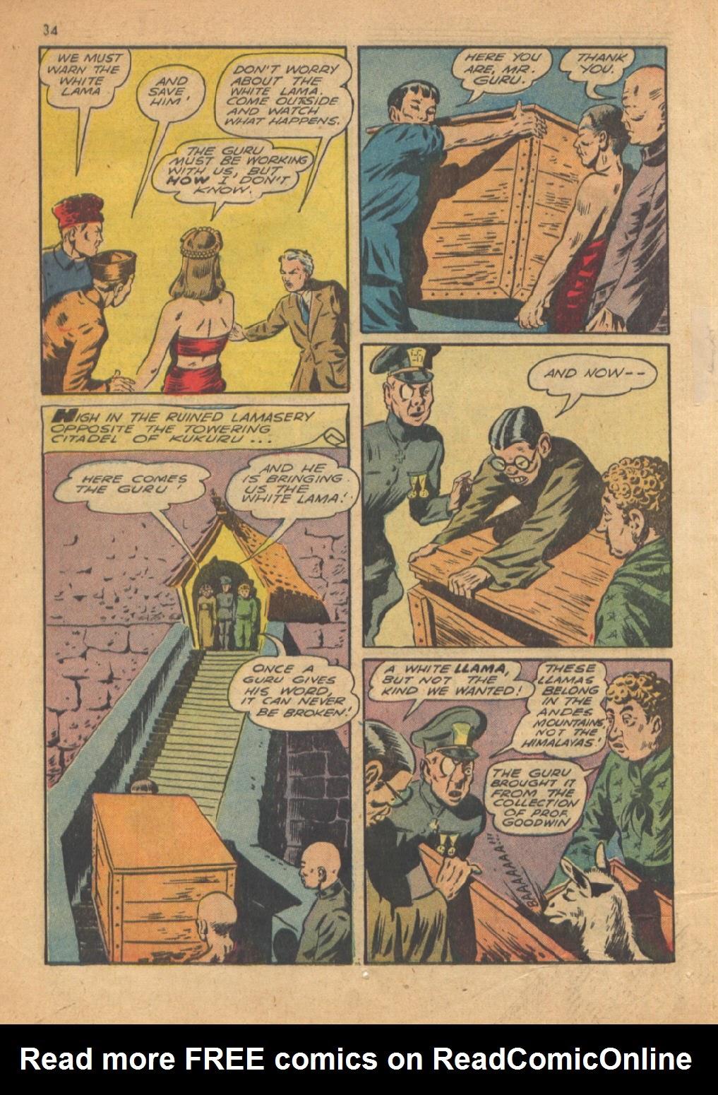 Read online Super-Magician Comics comic -  Issue #13 - 34