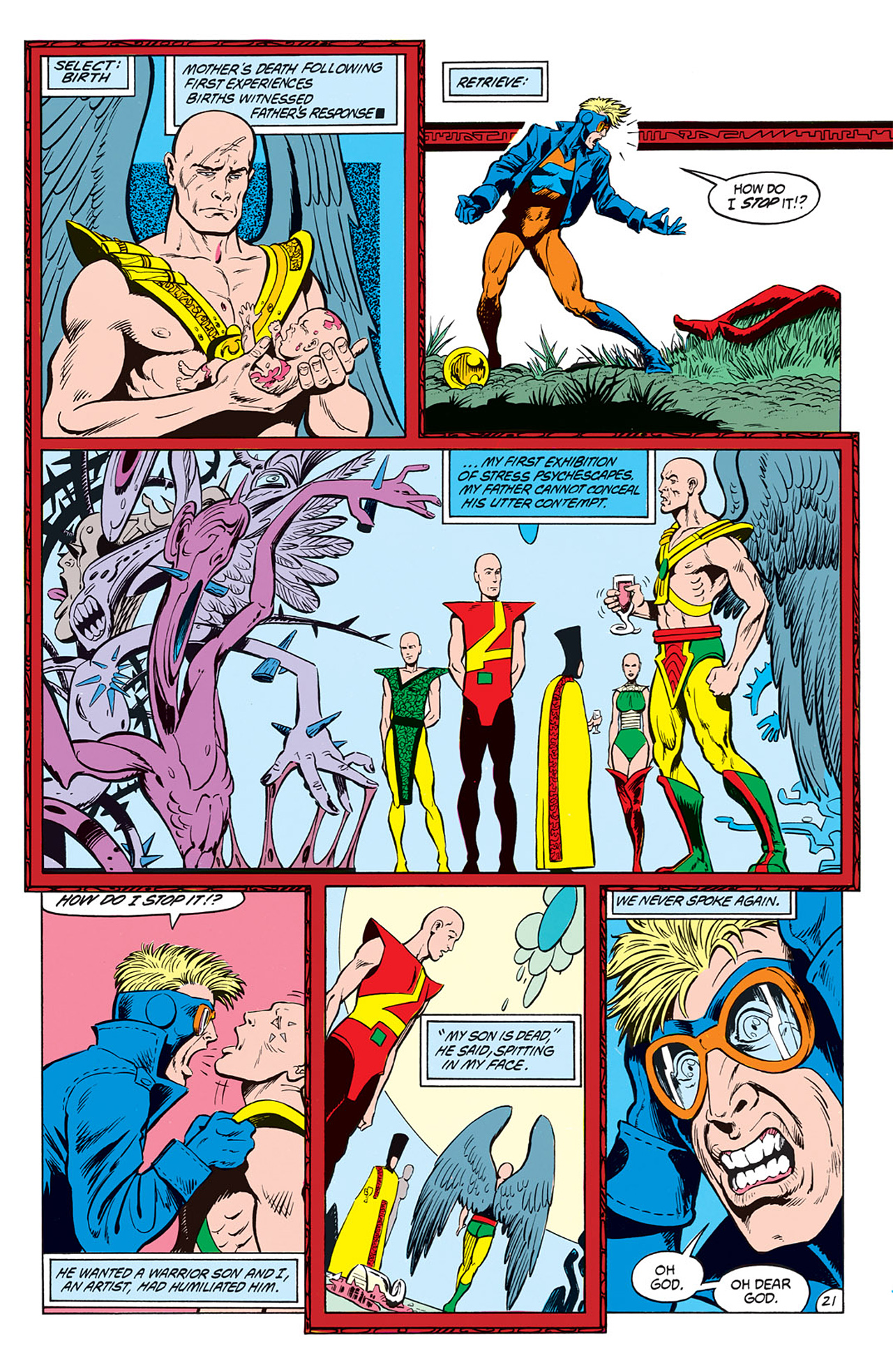 Read online Animal Man (1988) comic -  Issue #6 - 23