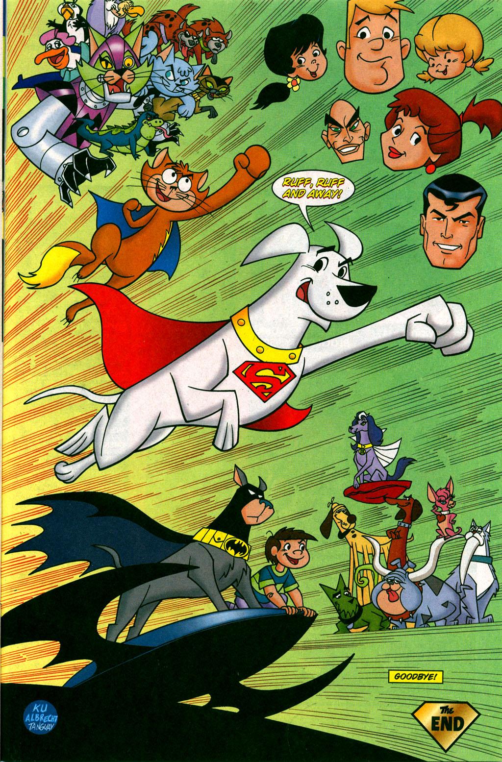 Read online Krypto the Superdog comic -  Issue #6 - 21