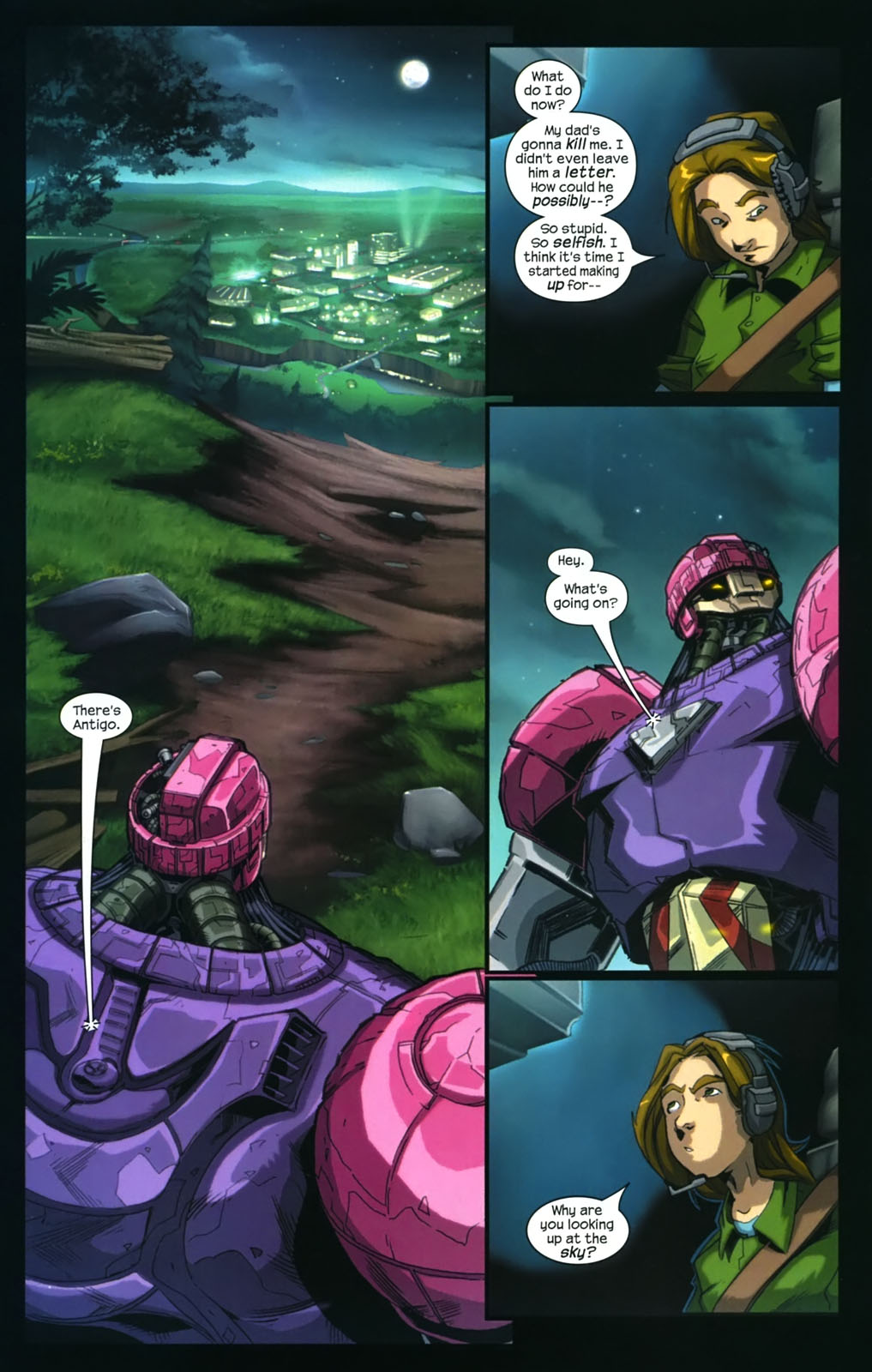 Read online Sentinel (2006) comic -  Issue #4 - 17