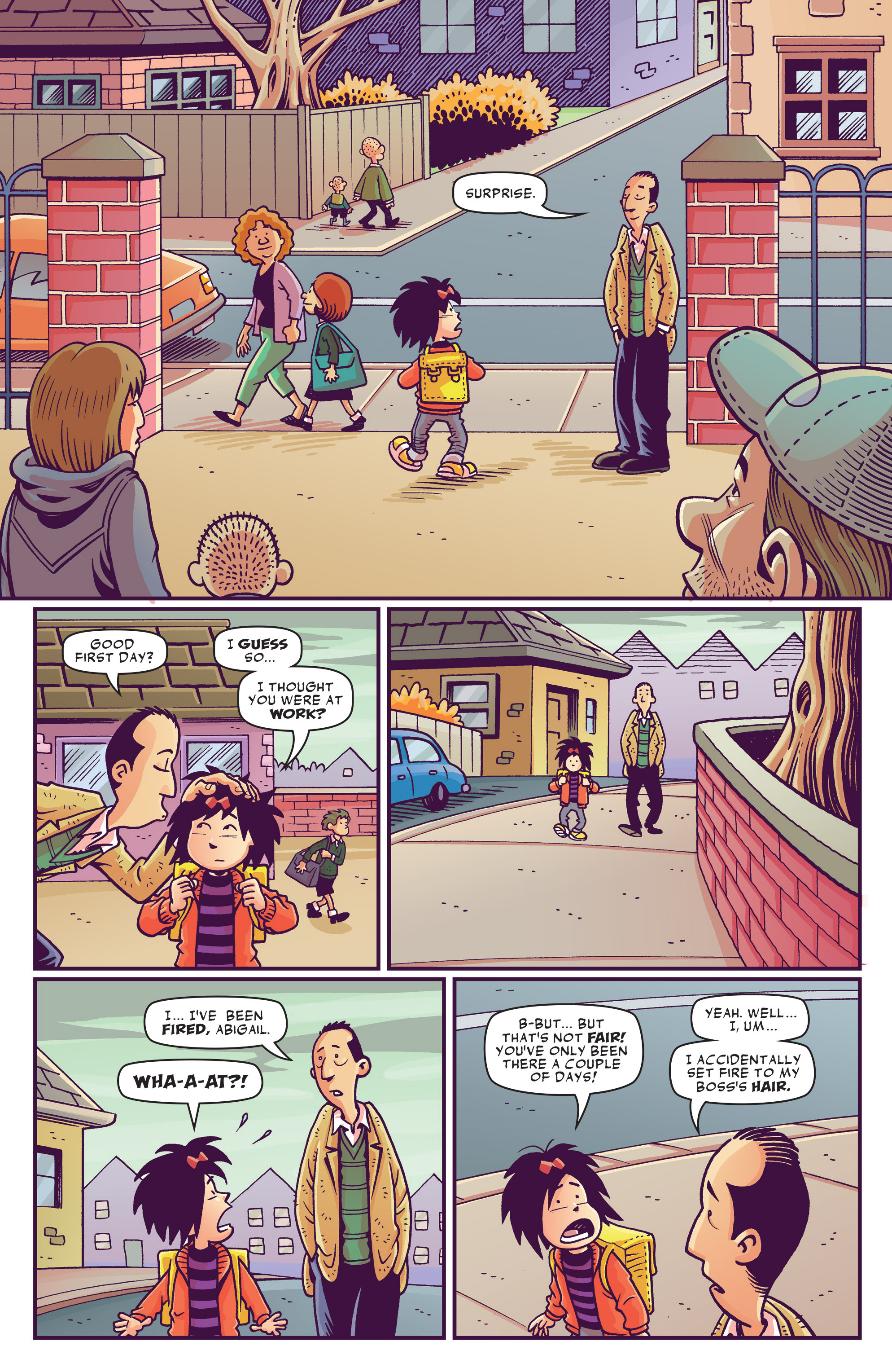 Read online Abigail And The Snowman comic -  Issue #1 - 7