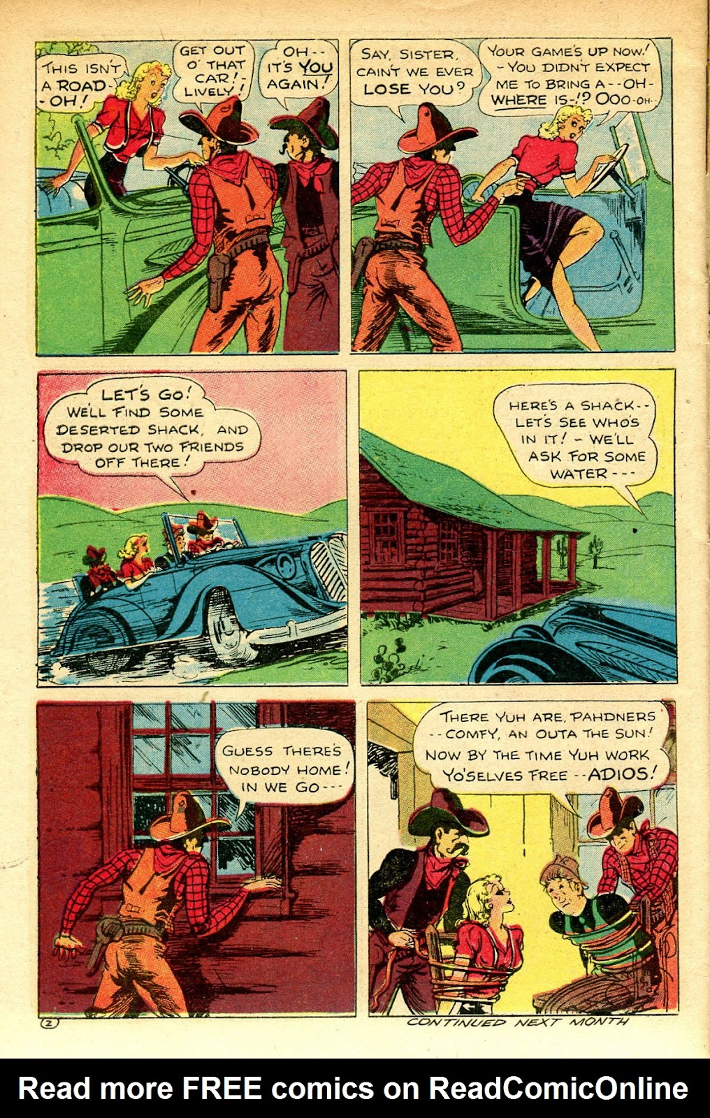 Read online Famous Funnies comic -  Issue #129 - 46
