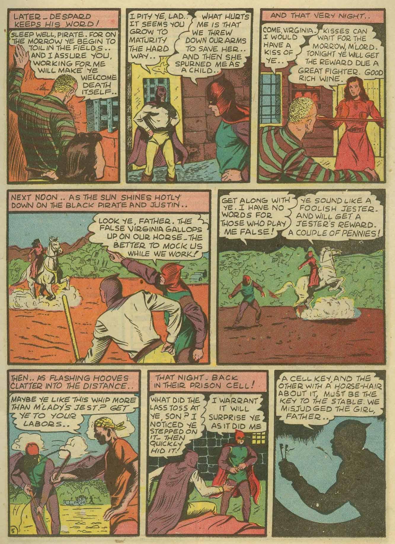 Read online Sensation (Mystery) Comics comic -  Issue #14 - 21