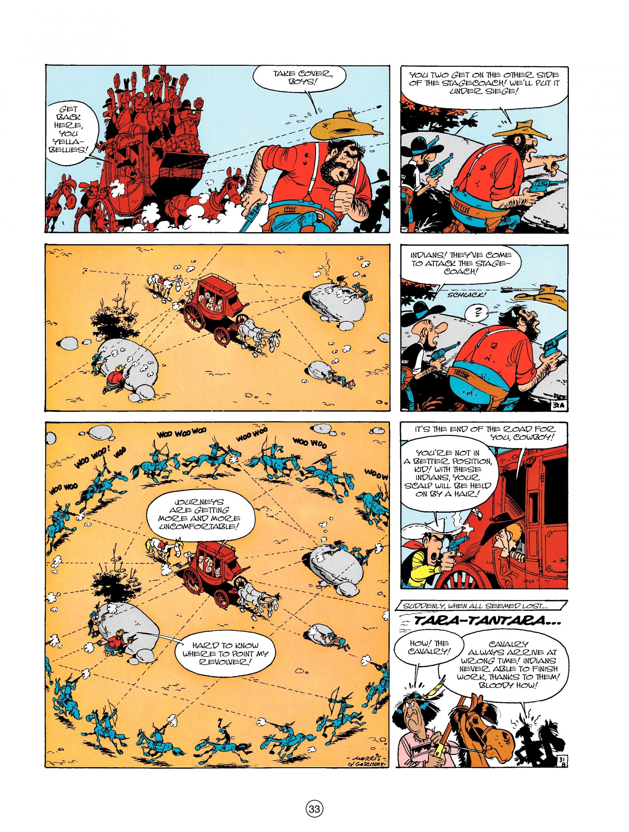 Read online A Lucky Luke Adventure comic -  Issue #18 - 33