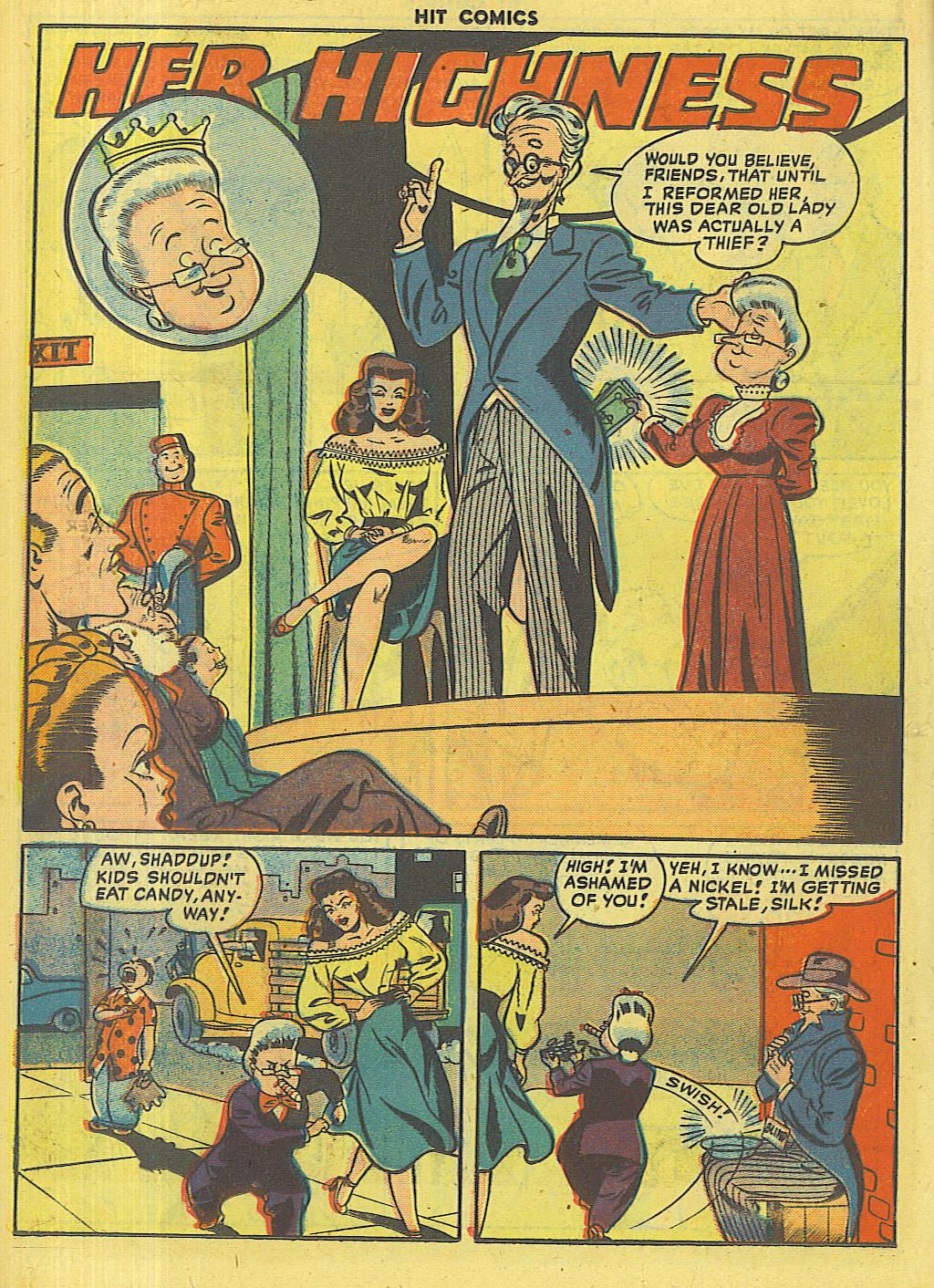 Read online Hit Comics comic -  Issue #56 - 16
