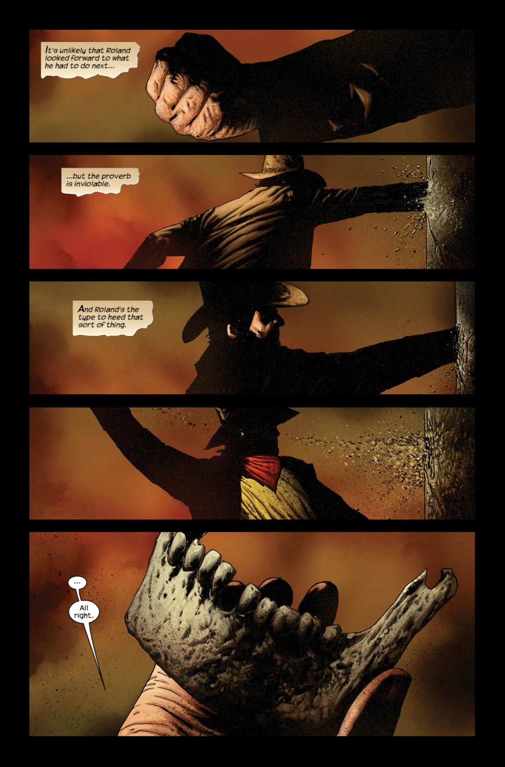 Read online Dark Tower: The Gunslinger - The Way Station comic -  Issue #3 - 18