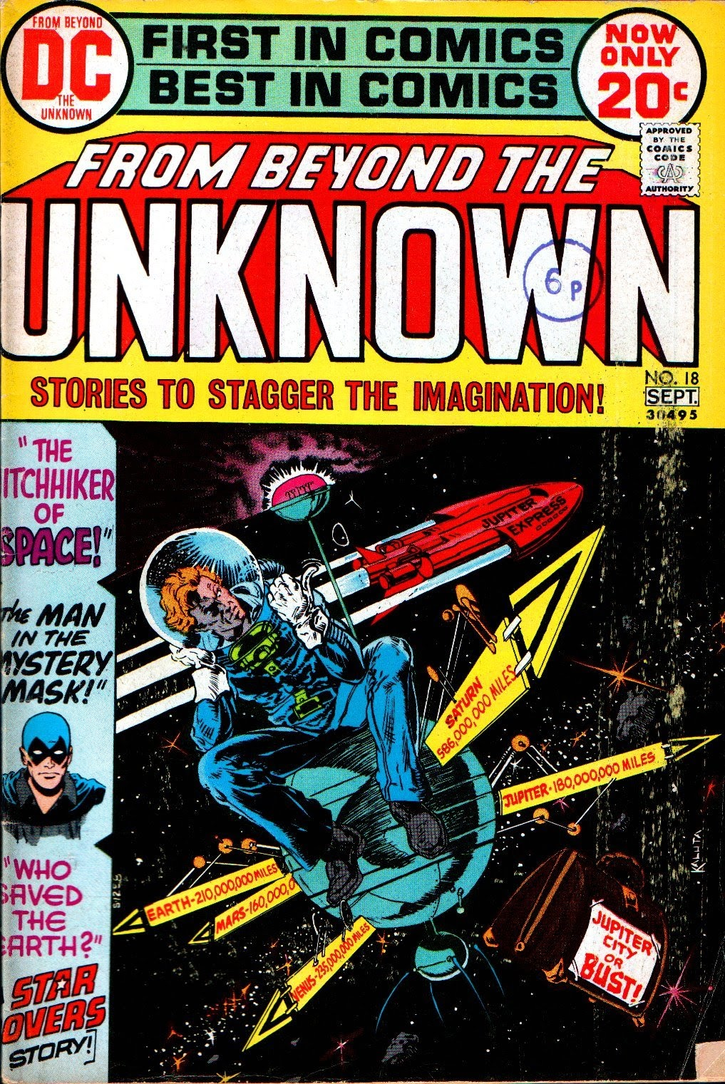 From Beyond the Unknown (1969) issue 18 - Page 1