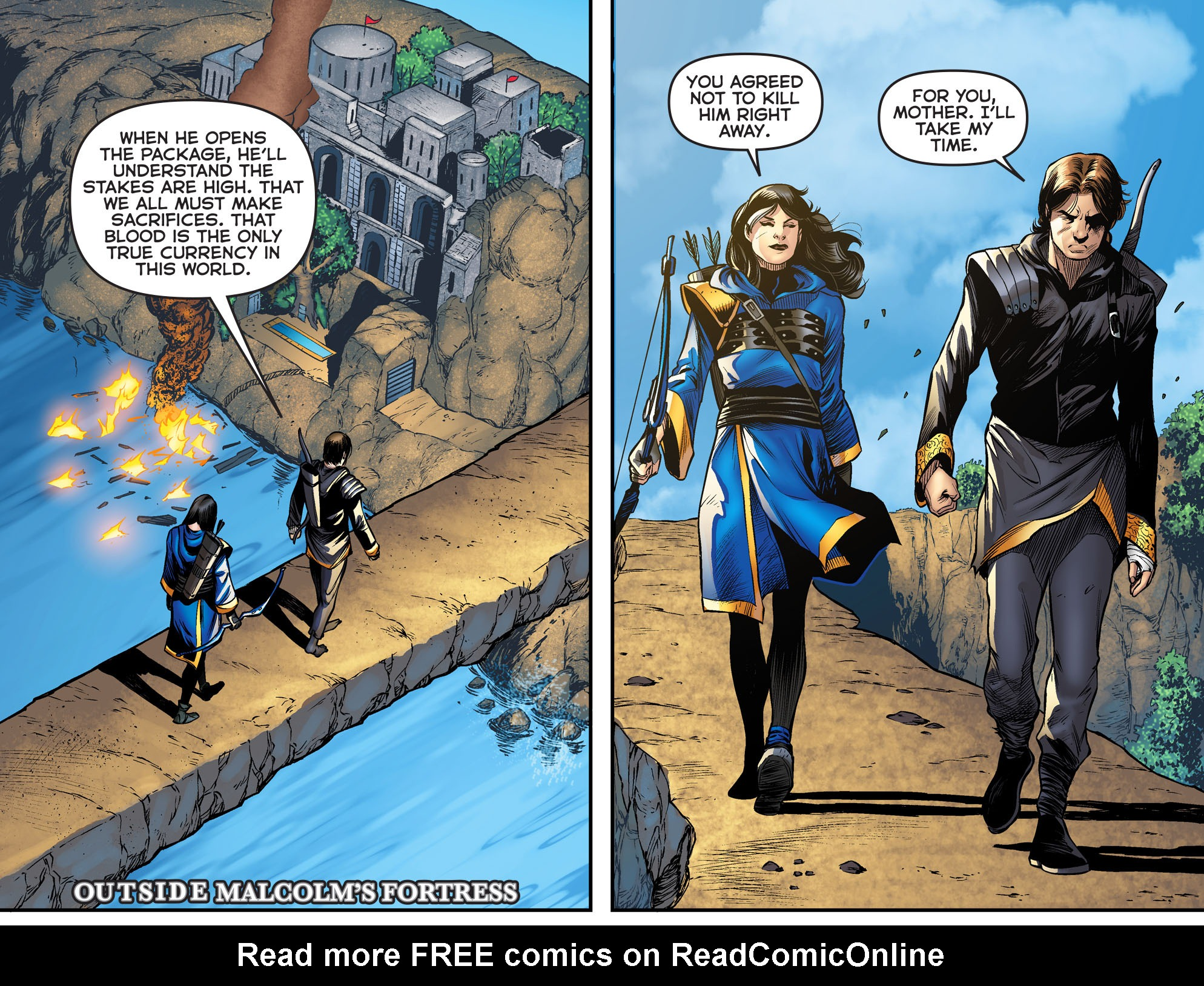 Read online Arrow: The Dark Archer comic -  Issue #2 - 7