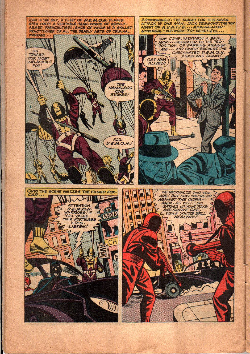 The Mighty Crusaders (1965) Issue #5 #5 - English 8