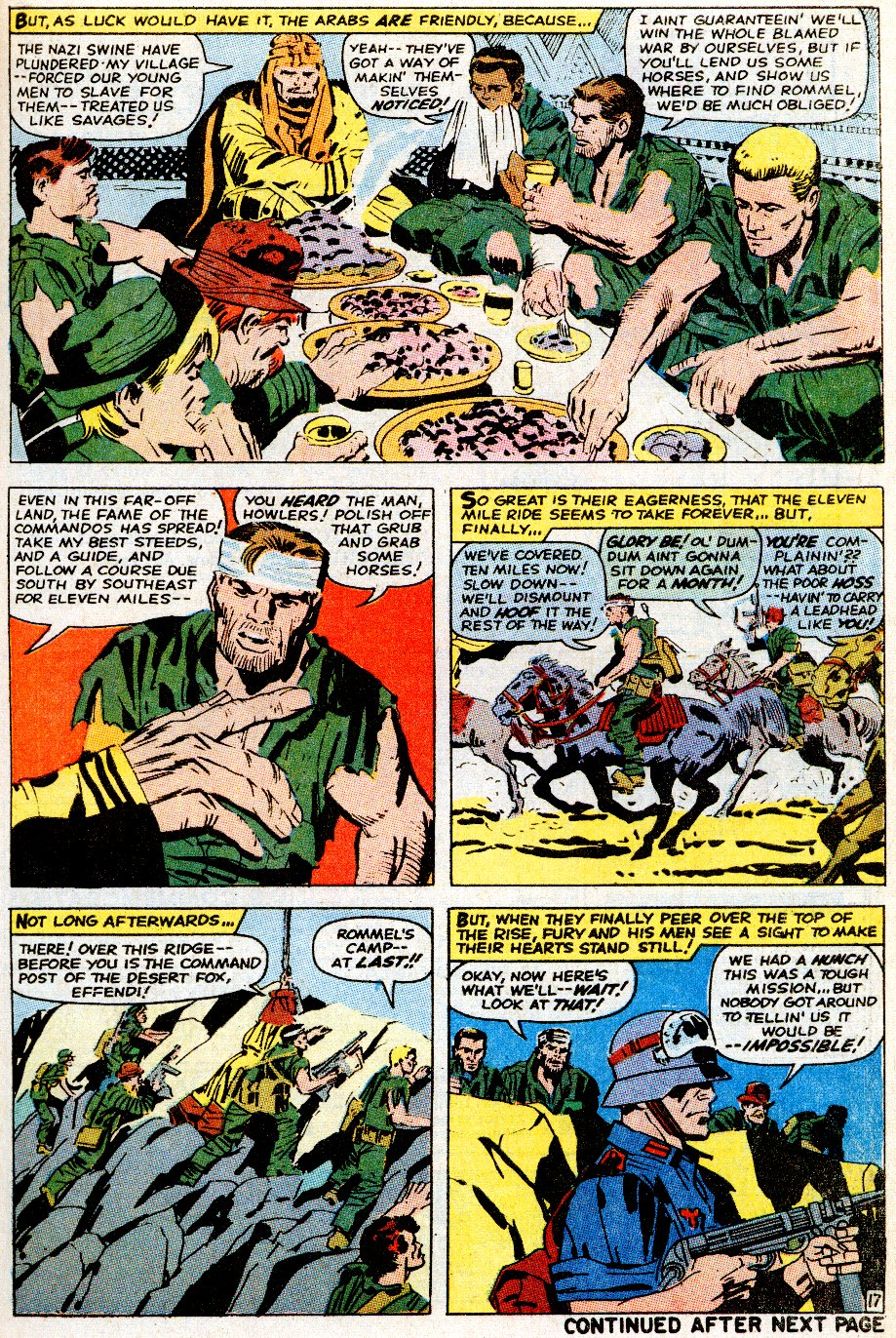 Read online Sgt. Fury comic -  Issue # _Special 5 - 21