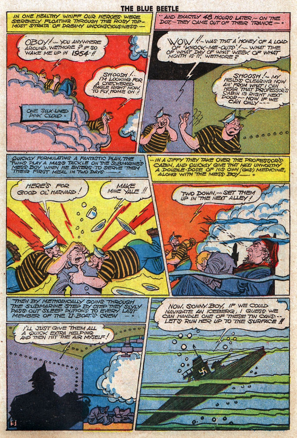 The Blue Beetle issue 33 - Page 35