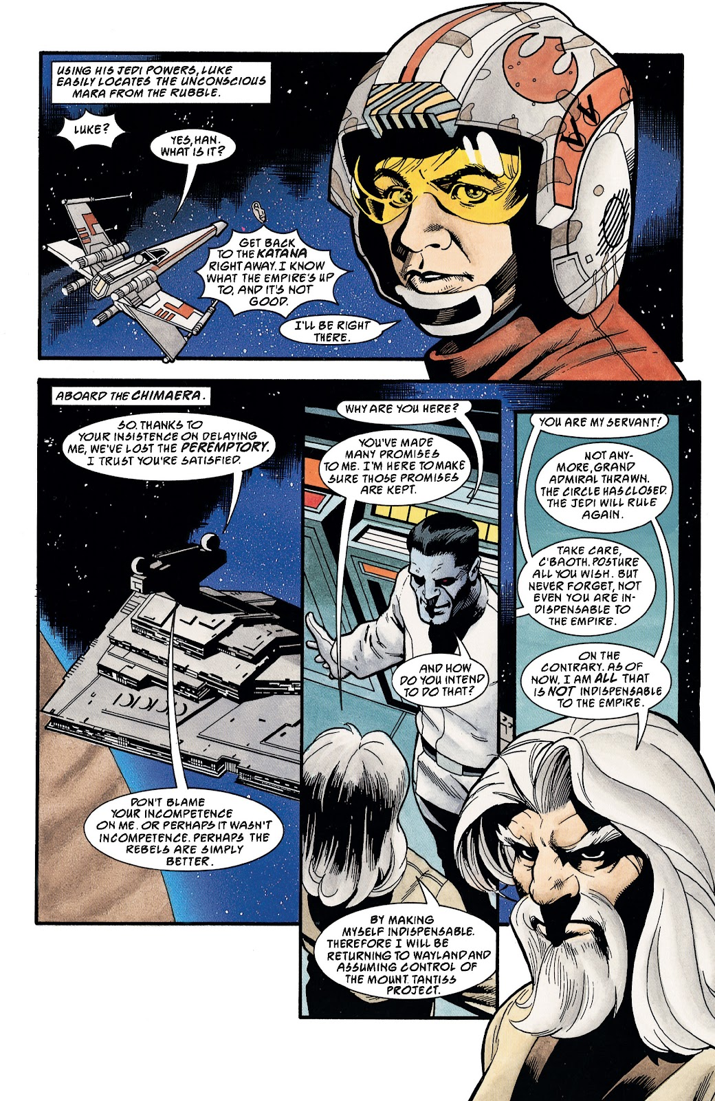 Read online Star Wars Legends: The New Republic - Epic Collection comic -  Issue # TPB 4 (Part 3) - 96