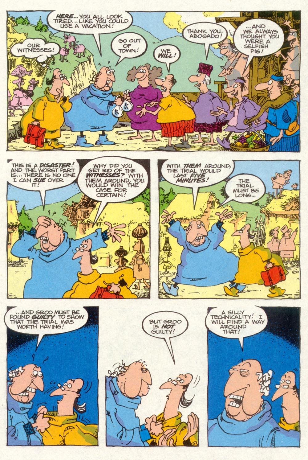 Read online Sergio Aragonés Groo the Wanderer comic -  Issue #90 - 17
