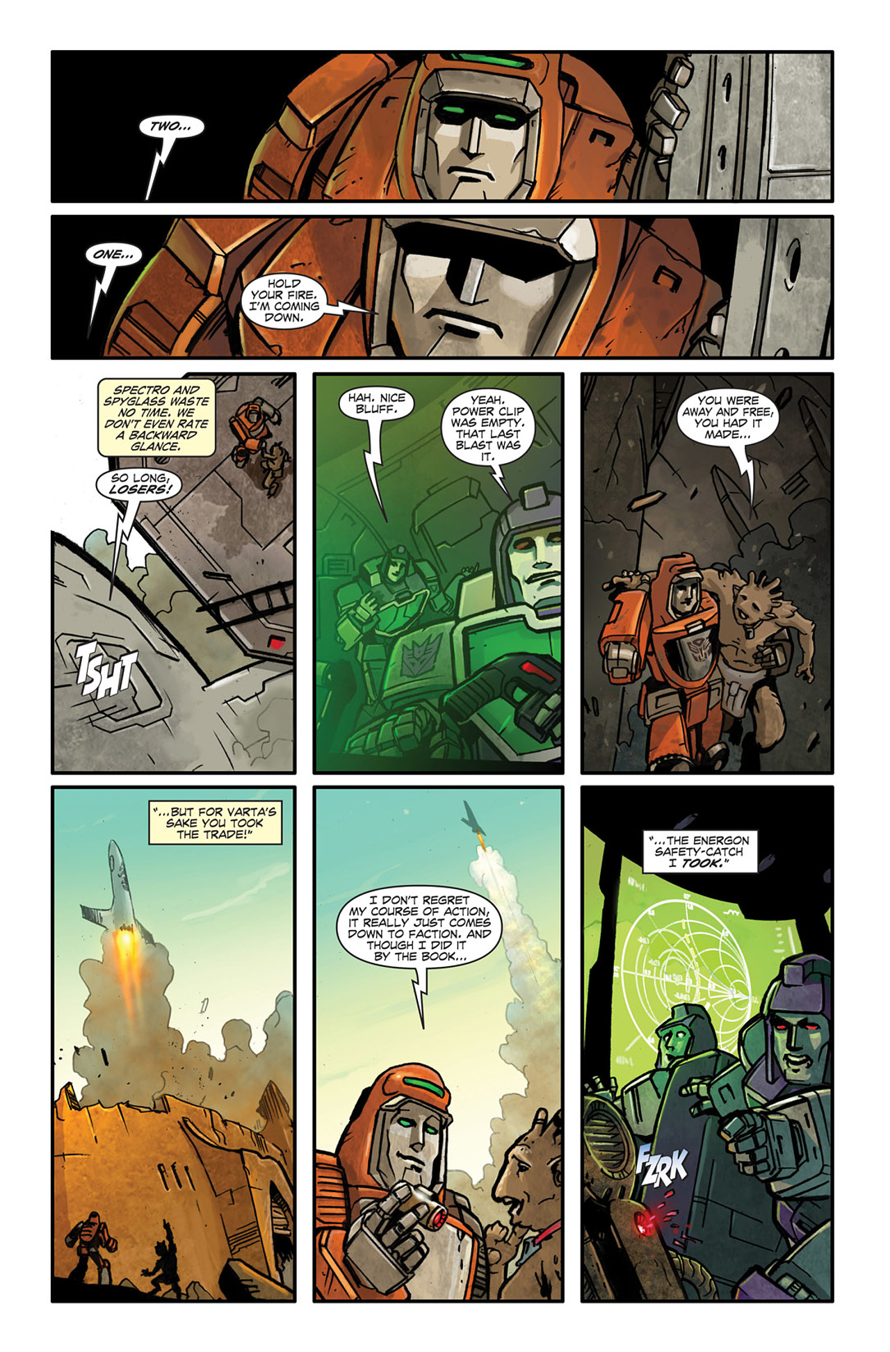 Read online Transformers Spotlight: Wheelie comic -  Issue # Full - 22