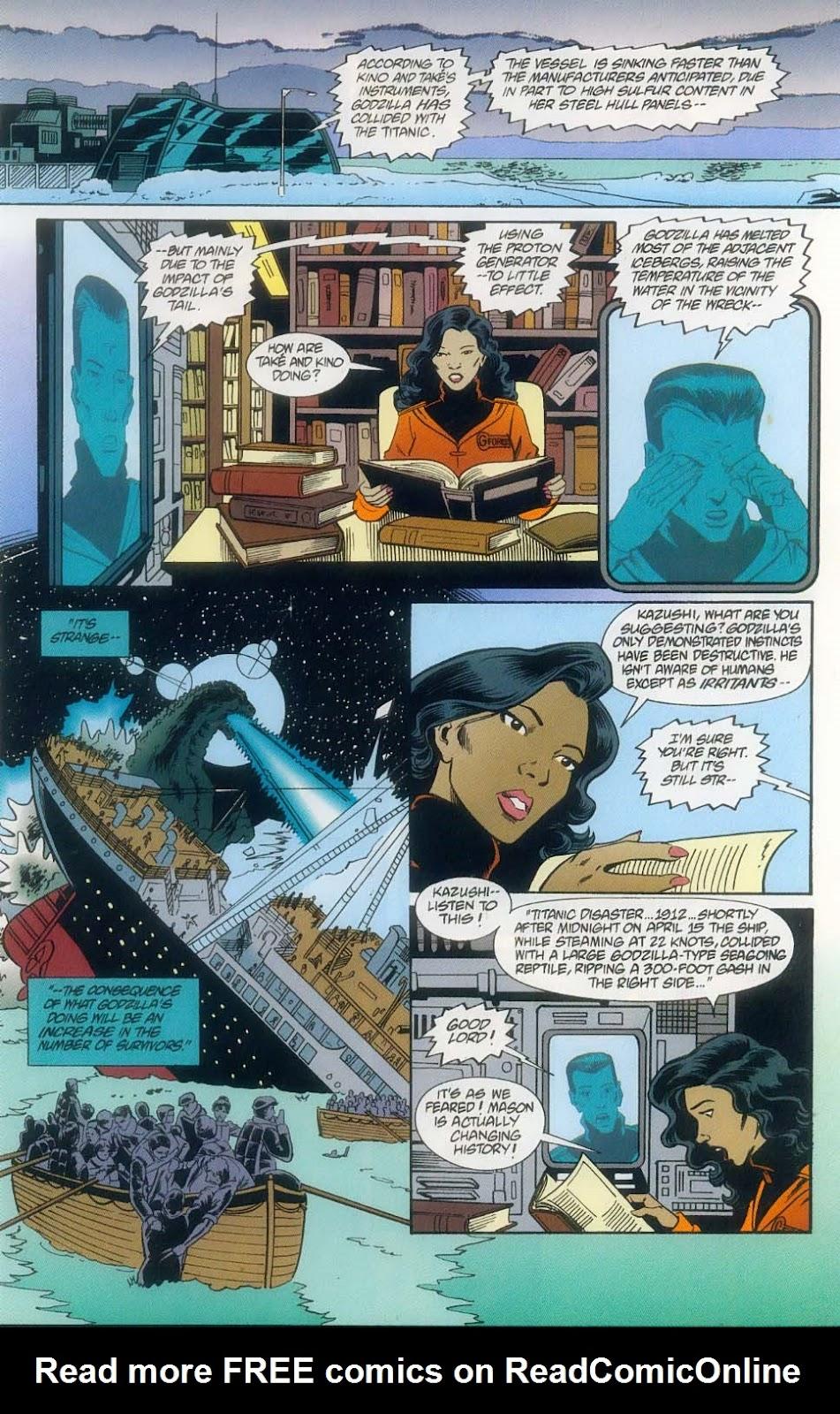 Godzilla (1995) Issue #11 #12 - English 17