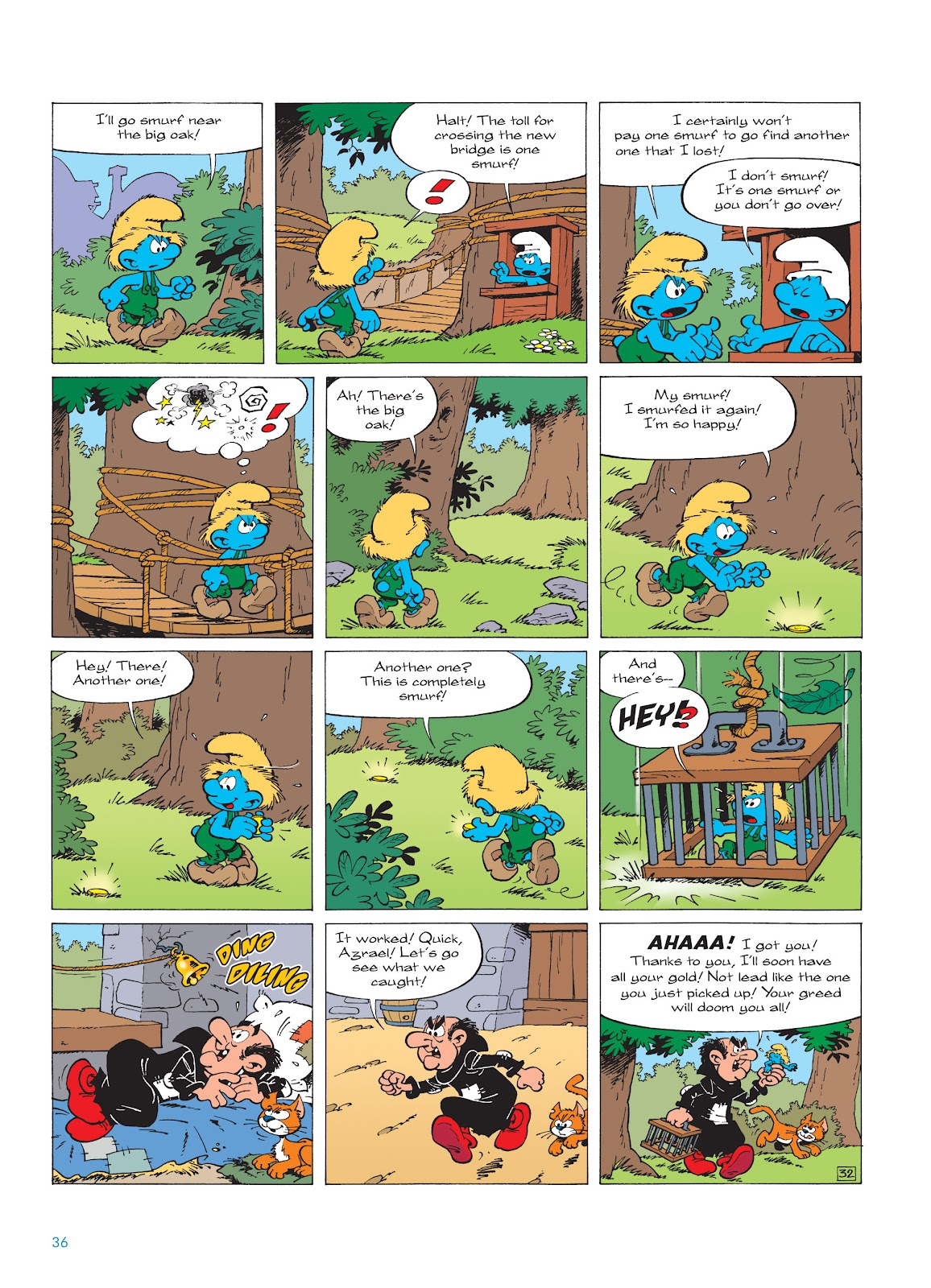 Read online The Smurfs comic -  Issue #18 - 36