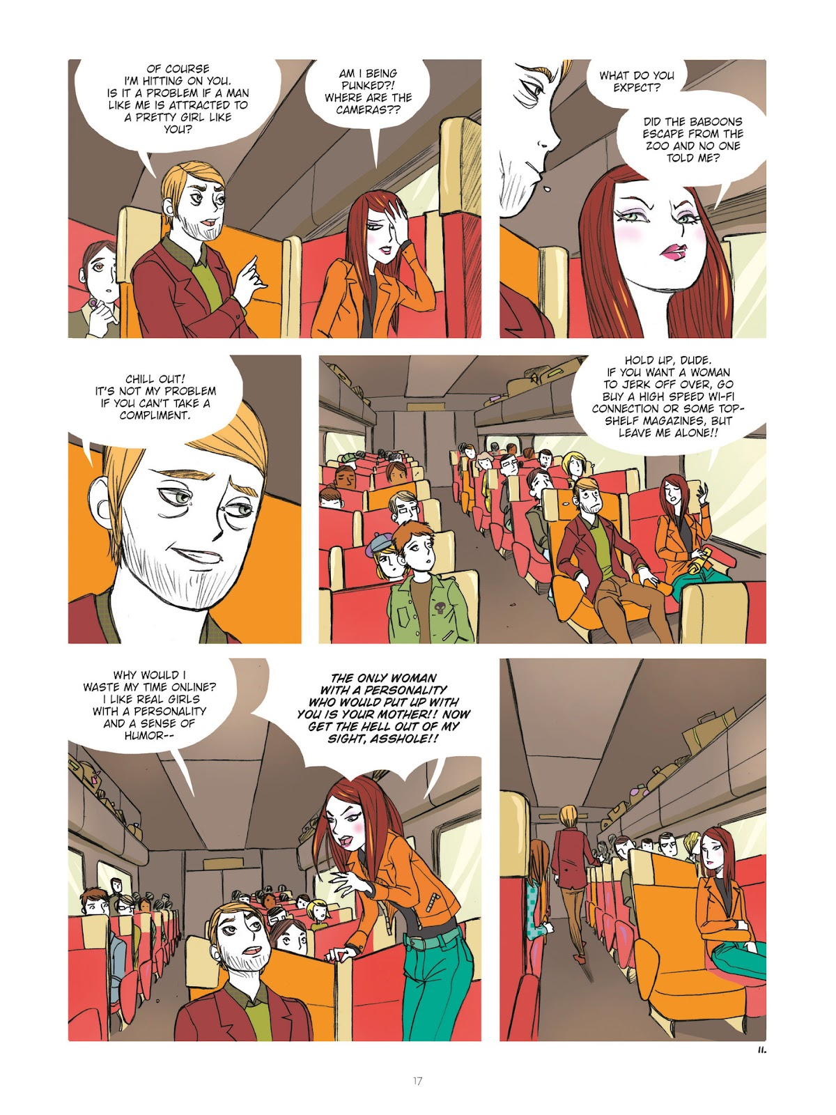 Read online Diary of A Femen comic -  Issue # TPB - 19