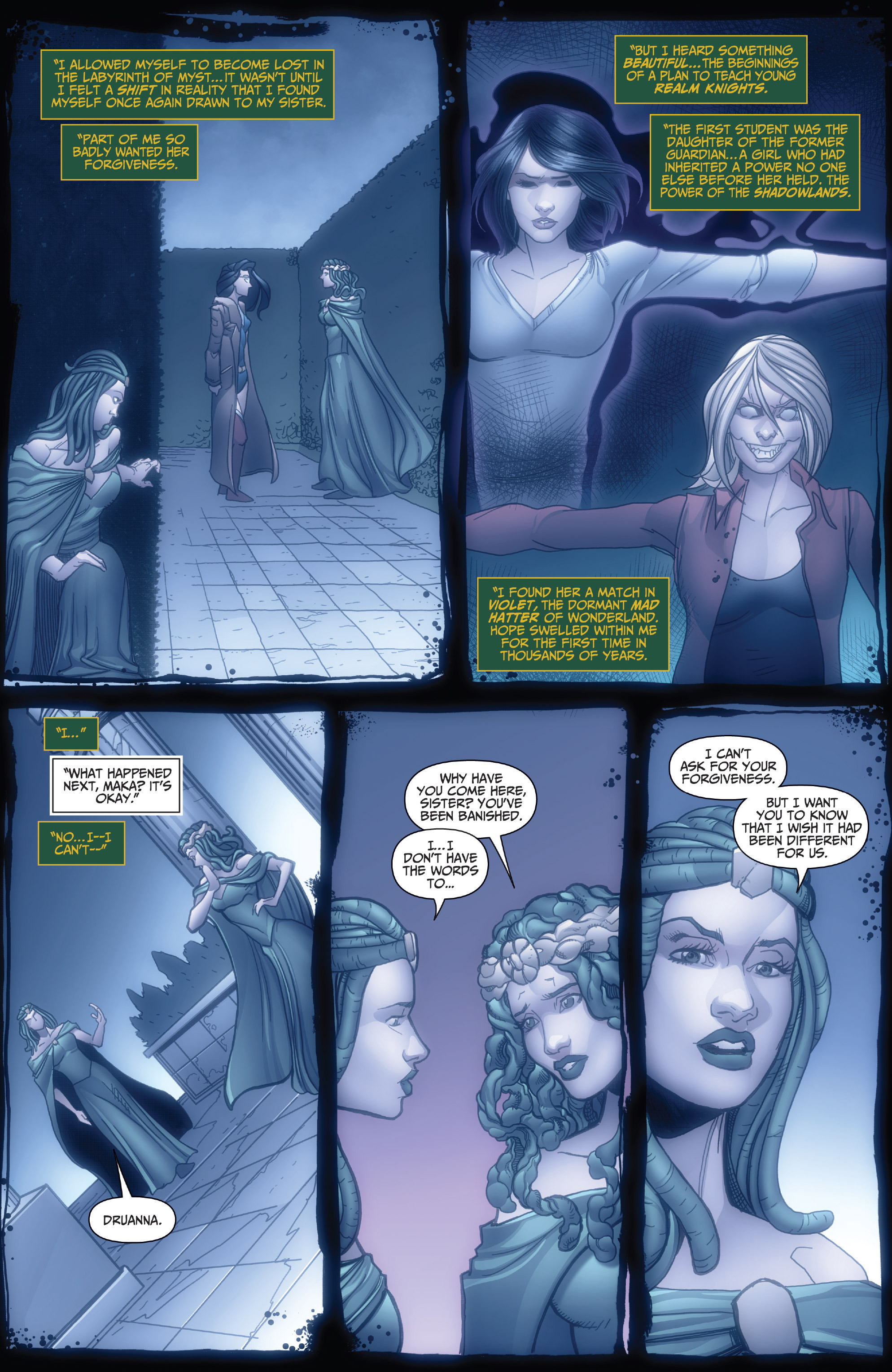 Read online Grimm Fairy Tales: Arcane Acre comic -  Issue # TPB 4 - 20