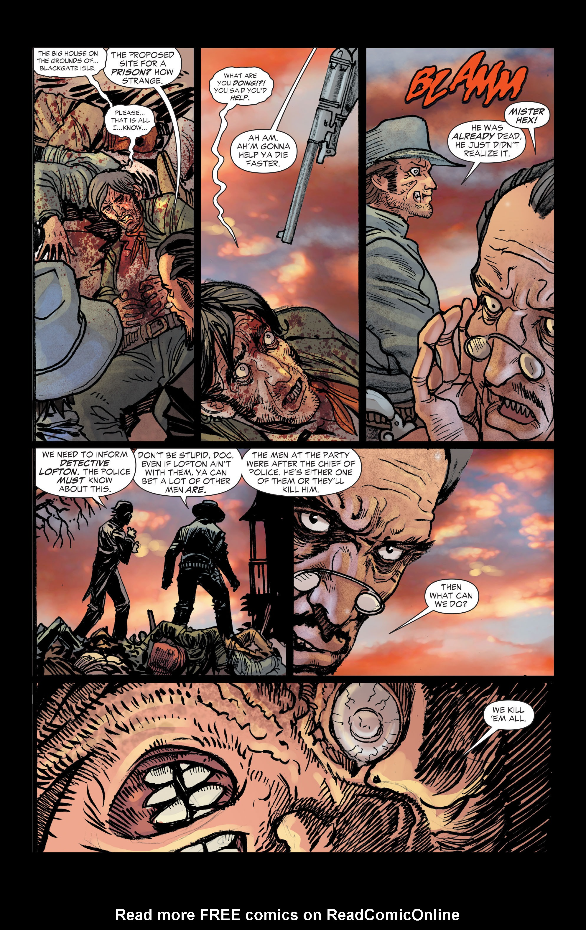 Read online All-Star Western (2011) comic -  Issue #2 - 12