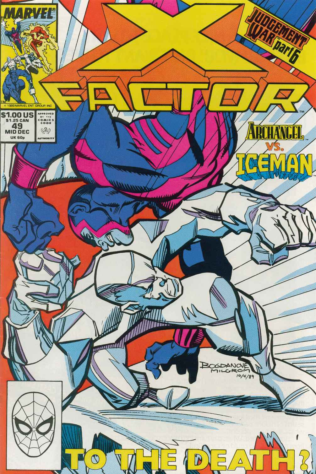 Read online X-Factor (1986) comic -  Issue #49 - 1