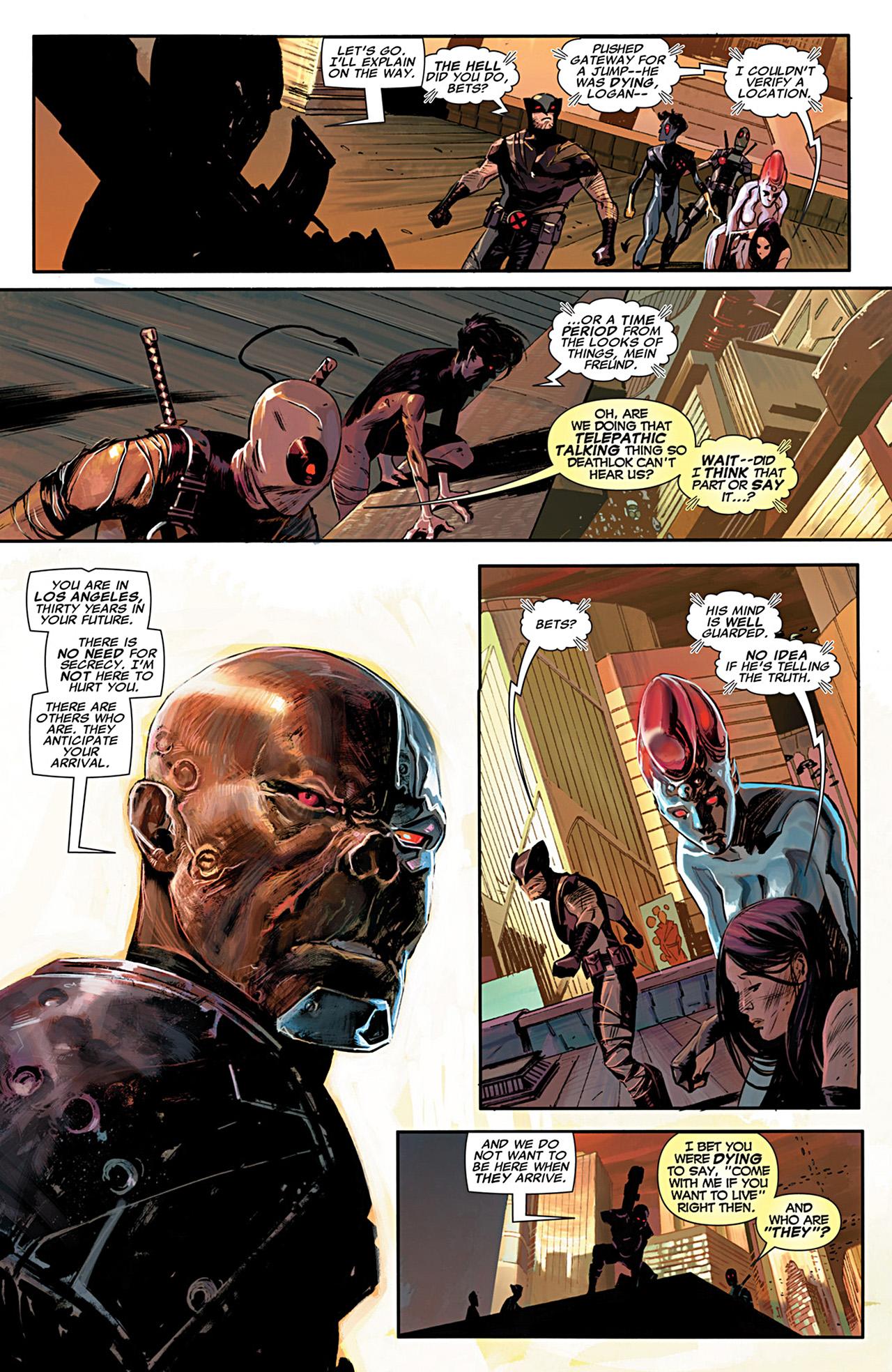 Uncanny X-Force (2010) #28 #30 - English 5