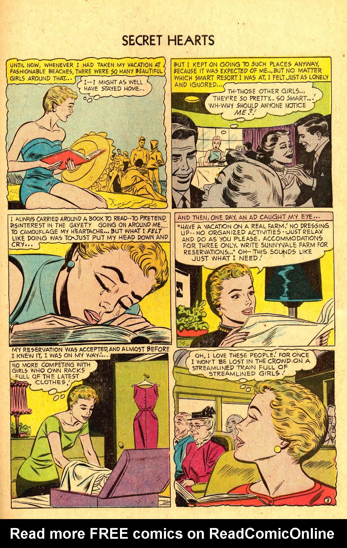 Read online Secret Hearts comic -  Issue #36 - 29