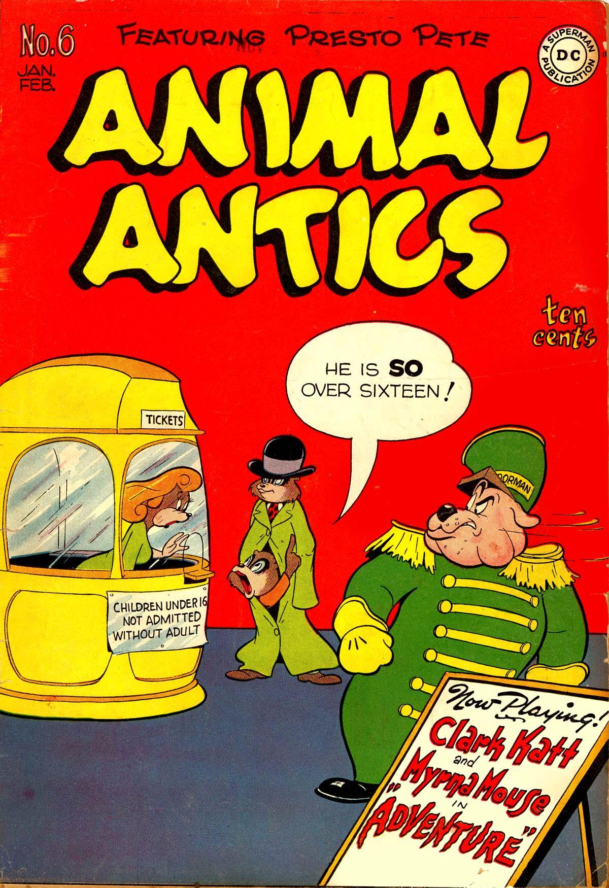 Read online Animal Antics comic -  Issue #6 - 1