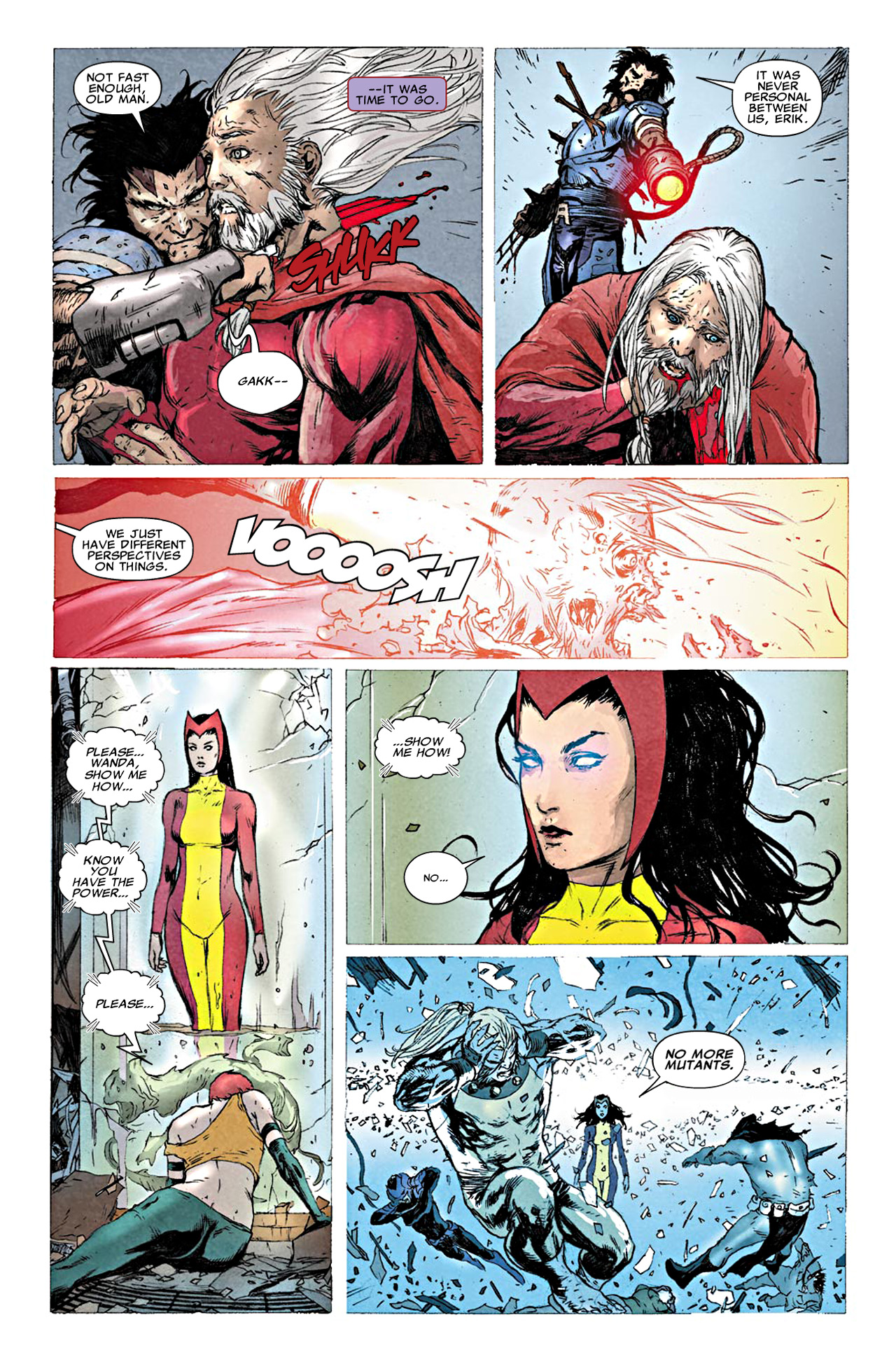 Read online Uncanny X-Force (2010) comic -  Issue #19.1 - 16