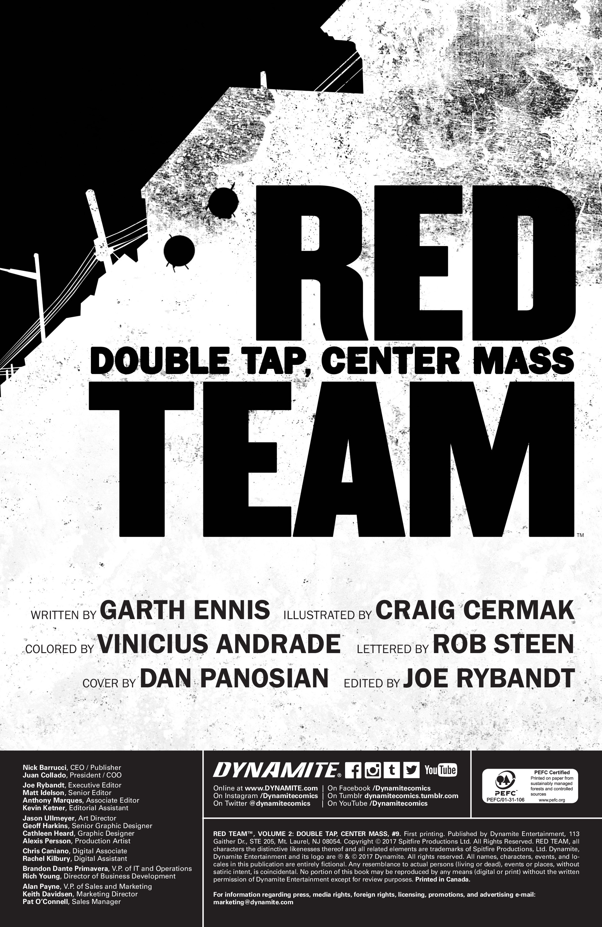 Read online Red Team: Double Tap, Center Mass comic -  Issue #9 - 2