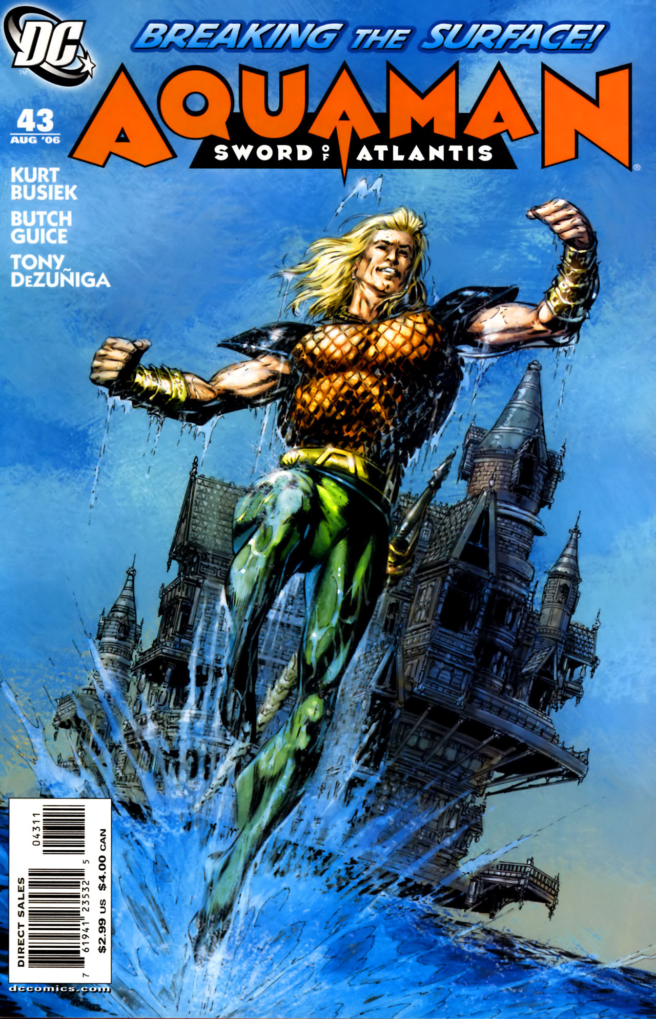 Aquaman: Sword of Atlantis 43 Page 1