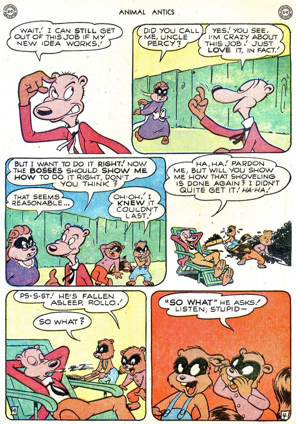 Read online Animal Antics comic -  Issue #11 - 6