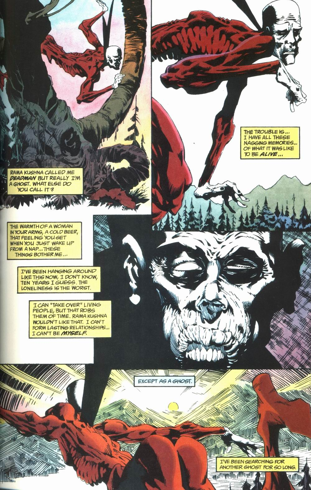 Read online Deadman: Love After Death comic -  Issue #1 - 7